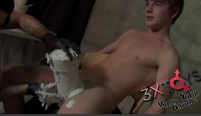 Watch Brent Corrigan Get his Penis and Ass Molded into a Dildo