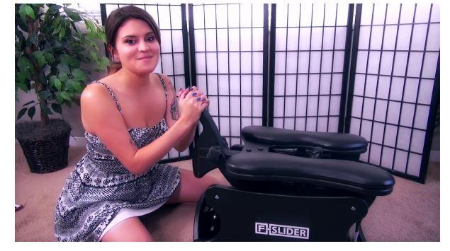 The F-Slider Pro self-pleasuring chair Video