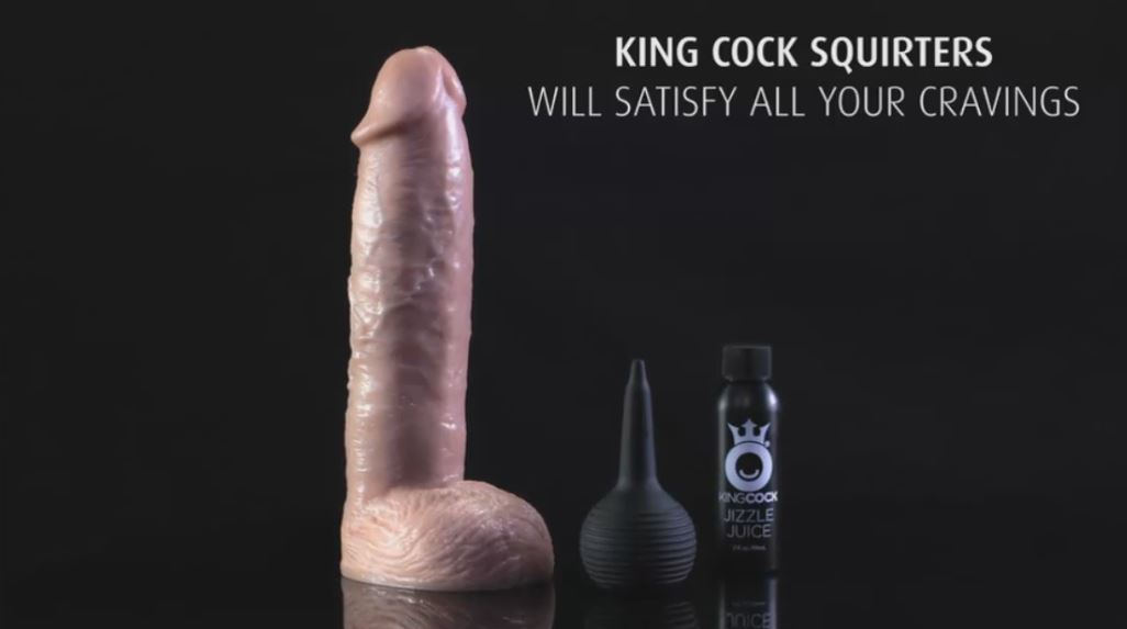 Discover Reviews of Pipedream Products King Cock Ultra Realistic SQUIRTING Dildo