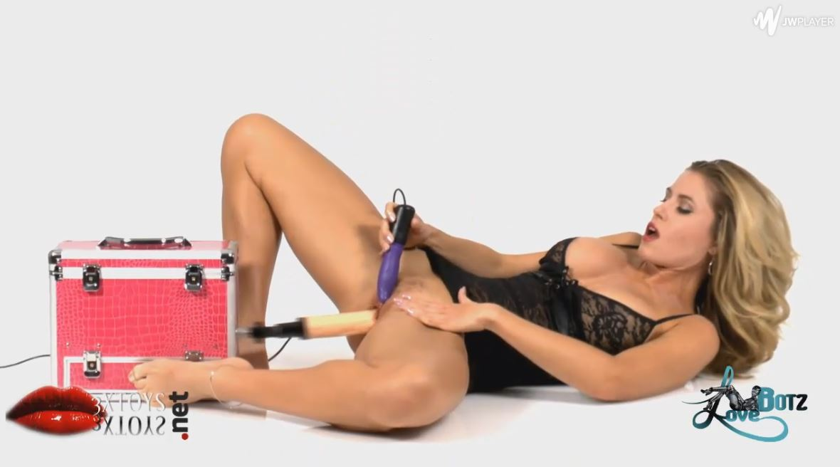 Discover The LOVE BOTZ PANDORAS BOX Automated Fucking SEX MACHINE