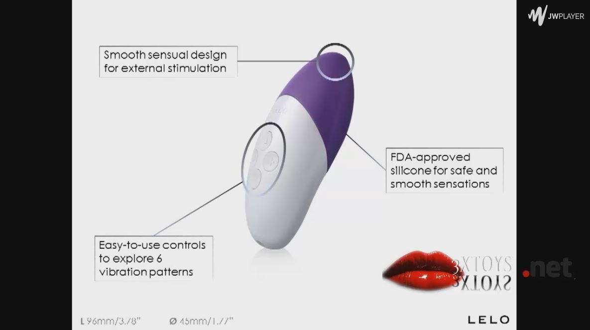 LELO SIRI - LELO'S Most Powerful Sensual Massager To Date By 3XToys TV