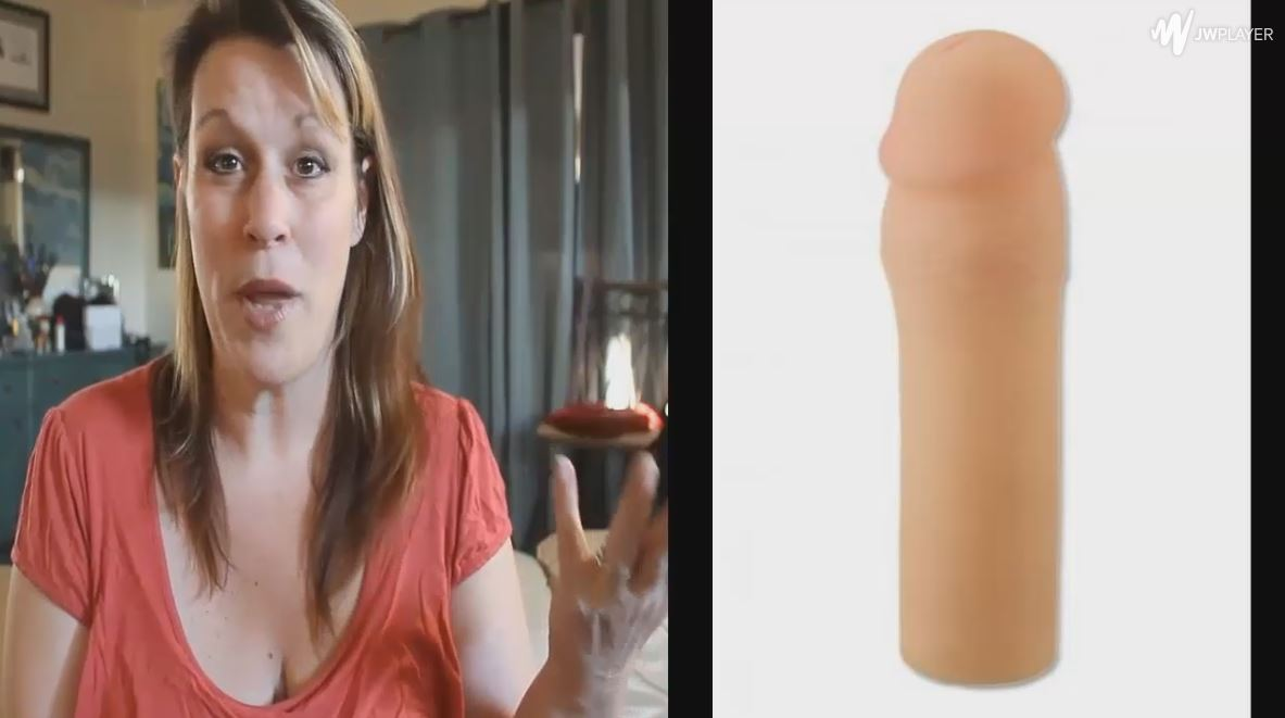 Video Review Of The REAL FEEL PENIS EXTENSION-Enhance Your Best Asset With The Real Feel Penis Extension. It'S So Lifelike, Your Partner Won'T Be Able To Tell Where Your Penis Ends
