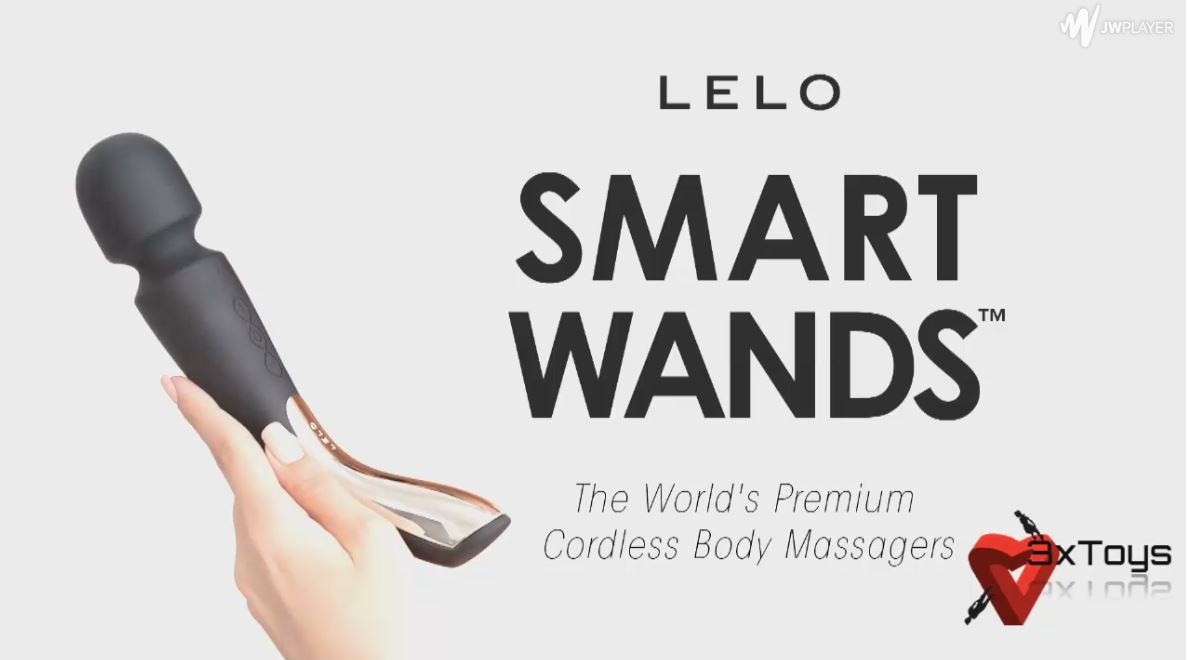Video Review Of The The Lelo  Large SMART WAND - A Vibrating Wand Massager That Offers Relaxing Back And Neck And Vaginal Massage Anywhere And Anytime You Choose.